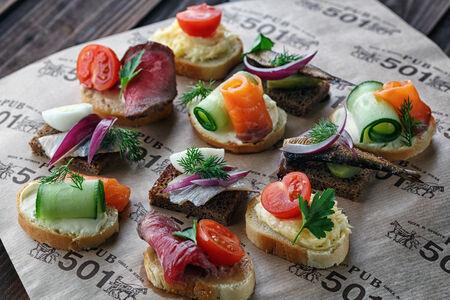 Ассорти бутербродов