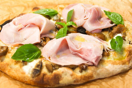 Пицца Пино Ветчина с лесными грибами