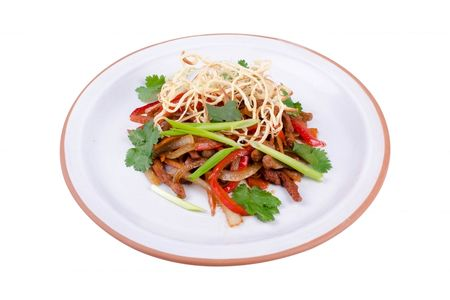 Теплый салат Газапхули