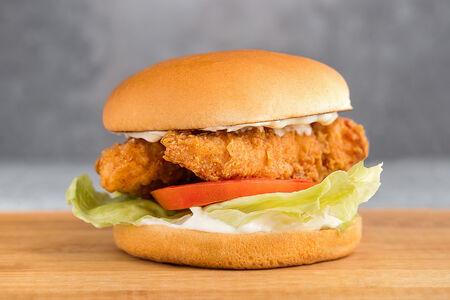 Чикен тендер сэндвич с соусом ранч