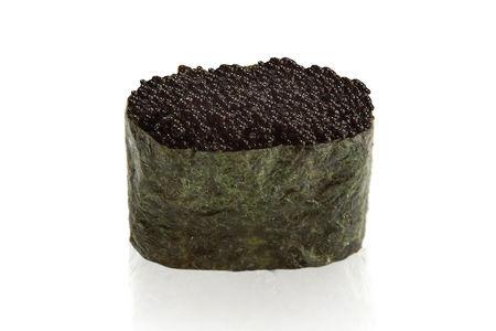 Суши Тобико черная