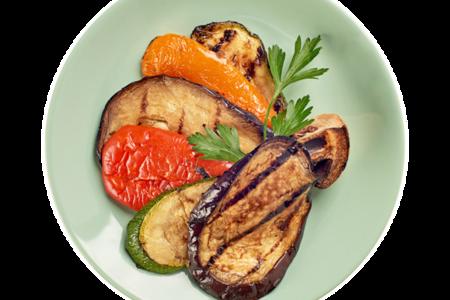 Овощи жареные на гриле