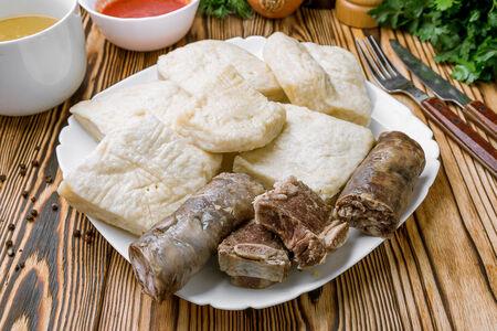 Хинкал Аварский с сушеным мясом