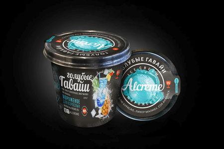 Мороженое Голубые Гавайи