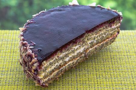 Торт Женевский половинка