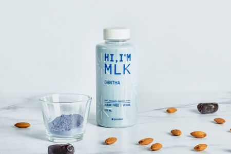 Миндальное молоко с анчаном