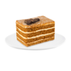 Фото к позиции меню Пирожное Медовое классическое, Cream Royal