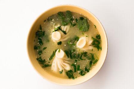 Суп с хинкали