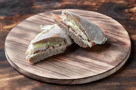 Мини сэндвич с индейкой