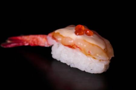 Суши Никкей со сладкой креветкой