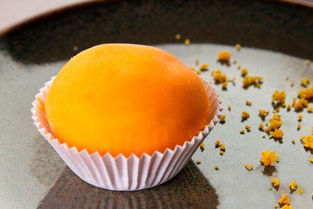 Десерт Вагаси с апельсином
