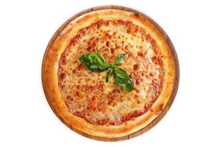 Пицца Маргарита на пышном тесте