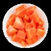 Фото к позиции меню Папайя резанная кубиками