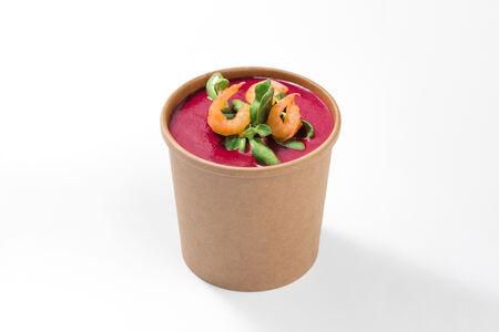 Крем-суп Свекольный на кокосе
