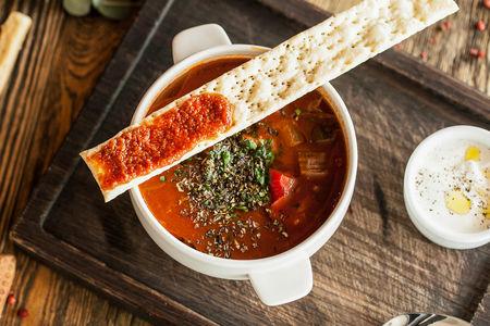 Суп-гуляш с телятиной