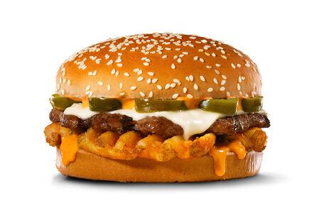 Острый хрустящий Вау бургер