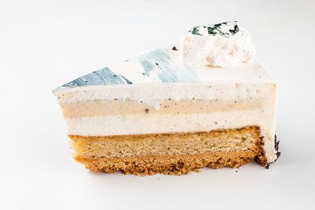 Кусочек торта Пломбир