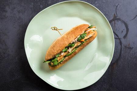Сэндвич с паштетом