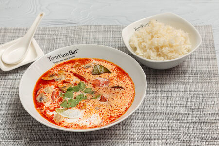 Суп ТомЯм с морепродуктами