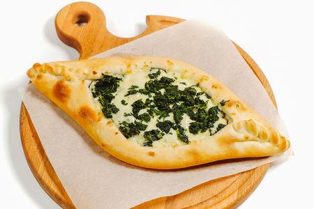 Лодочка со шпинатом и сыром