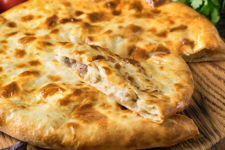 Пирог с картофелем и бараниной