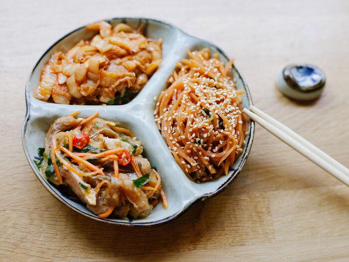 Микс корейских салатов №1