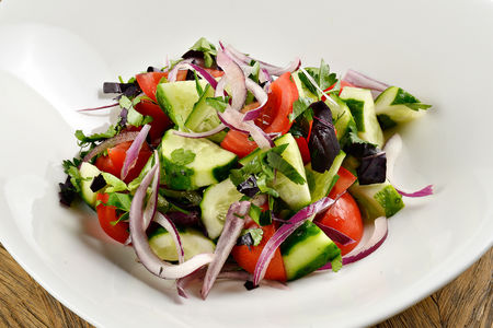 Салат Овощной с острым перцем