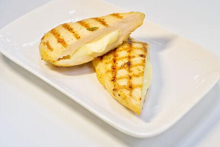 Куриное филе фаршированное сыром
