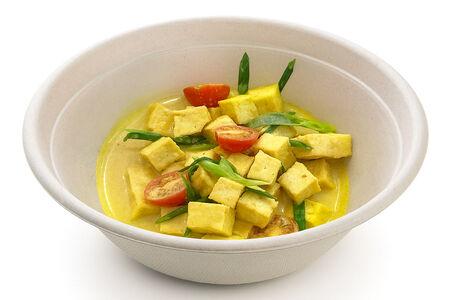 Тофу в кокосовом карри