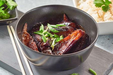 Баклажан с рисом в китайском стиле