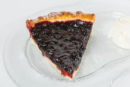 Черносмородиновый пирог