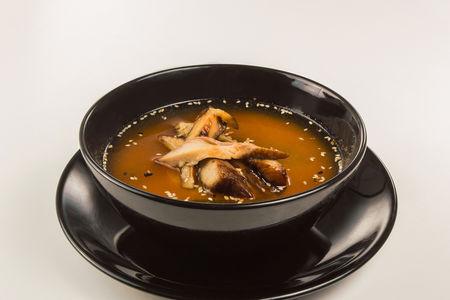 Мисо суп с угрем