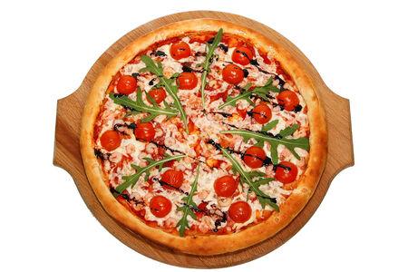 Пицца Креветки с рукколой