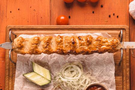 Люля-кебаб из цыпленка