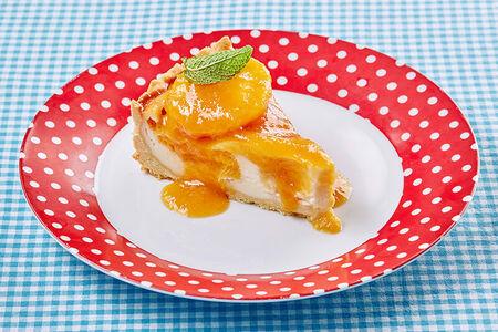 Творожник с абрикосовой пятимунуткой и амаретто