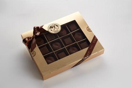 Набор Мармелад и зефир в темном шоколаде