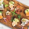 Фото к позиции меню Закуски на ржаном хлебе