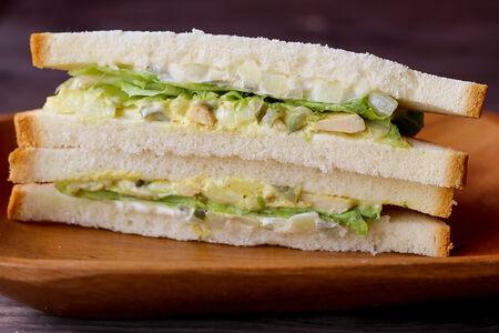 Сэндвич с курицей Карри и картофелем
