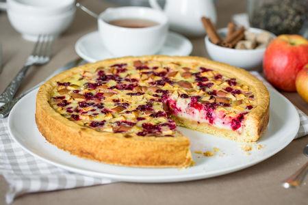 Пирог сладкий Брусничный