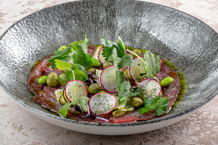 Севиче из тунца, цукини и редиса