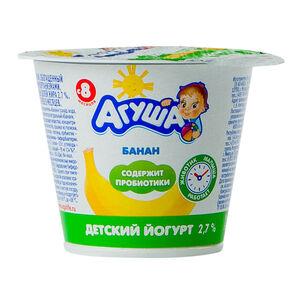 «Агуша» 2,6% банан