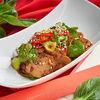 Фото к позиции меню Острый салат с говядиной и бок-чой