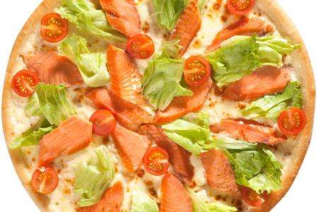 Пицца Сальмоне с лососем