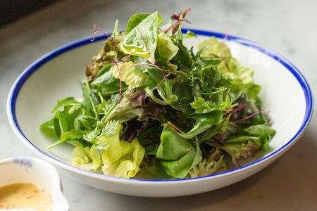 Ассорти из листьев салата мистиканца