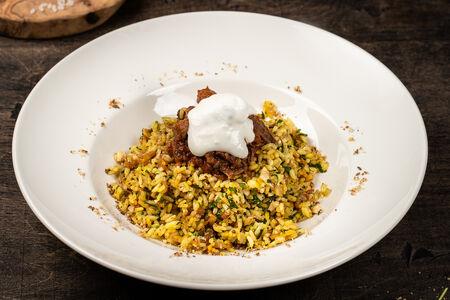 Марокканский рис пилав