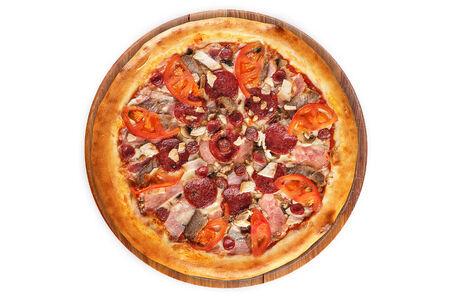 Супер Pizza на пышном тесте