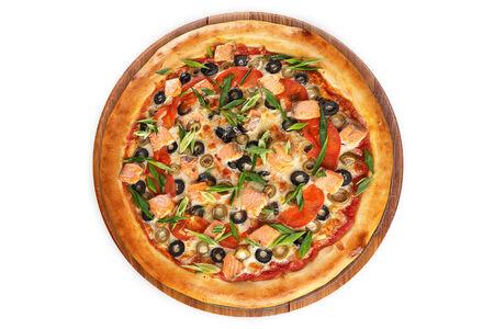 Пицца Флорентийская на пышном тесте