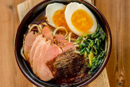 Японский суп Рамен со свининой