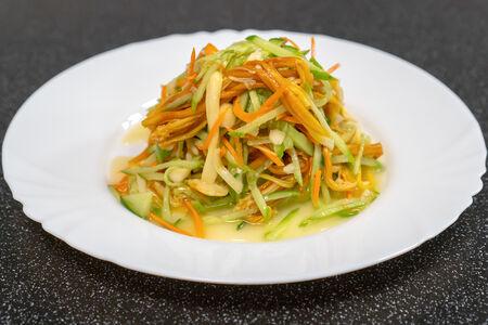 Салат из золотых иголочек