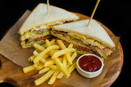Клаб сендвич с индейкой
